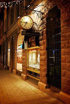 Helsingborg, Sweden at night