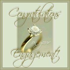 Congratulations On Your Engagement engagement engagement quotes engagement image. - She's Engaged & Next Comes Marriage - Engagement Ring Engagement Nails, Engagement Wishes, Engagement Images, Wedding Engagement, Congratulations Images, Engagement Congratulations, Wedding Wishes Quotes, Wedding Greetings, Happy Anniversary