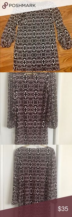 💥 Summer Sale 💥 Laundry by Shelli Segal Dress Cute and sexy wrapped up in one dress. Multi-color with ruched elastic cuffs. Size 6, above the knee. Very good pre-owned condition. Laundry By Shelli Segal Dresses