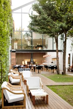 Awesome restaurant in Buenos Aires, Olsen Restaurant Concept, Cafe Restaurant, Restaurant Design, Cafe Interior, Interior And Exterior, Interior Design, Architecture Restaurant, Architecture Design, Cafe Design