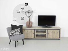 Industrieel TV meubel Deen | FØRN