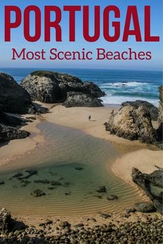 Discover some of the best beaches in Portugal from the Algarve and the West Coast. Sea Stack, Golden sand, High cliffs... Photos of the 12 most beautiful Portugal Beaches And a video to trigger your wanderlust! *** Portugal Travel - Portugal Algarve - Por