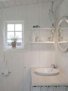 Fabric Houses, Small Bathroom, Toilet, Sink, House Design, Rustic, Interior Design, Home Decor, Design Ideas