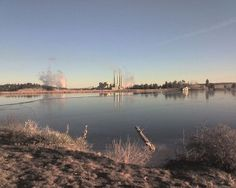 Castle Rock Lake in Colstrip, MT. I grew up knowing it as the Surge Pond. My father worked at the power plants in background until we moved in the early 90's. I deeply loved Colstrip and am really saddened by how it has fallen over time.