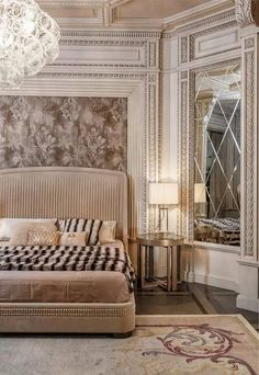 Art Deco Bedroom Design Beautiful Neoclassical and Art Deco Features In Two Luxurious Interiors Luxury Decor, Luxury Interior, Interior Design, Design Interiors, Interior Ideas, Contemporary Interior, Modern Contemporary, Interior Decorating, Decorating Ideas