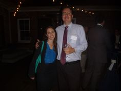 #Attorney Evan Guthrie with Mallary Scheer of Charleston Pro Bono Legal Services at the 2014 South Carolina Bar Charleston Area New Member Reception held by the South Carolina Bar Young Lawyers Division, Charleston County Bar, and Charleston Lawyers Club at Upstairs at Midtown in Charleston, SC on Tuesday, December 2, 2014.