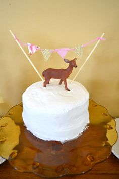 Strawberry shortcake deer bunting
