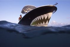 shark+mouth+paint+job   Image detail for -Shark Mouth Boat Paint - Main ...   Transportation