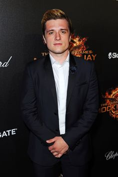 Josh Hutcherson attends The Hunger Games: #Mockingjay Part 1 celebration at the 2014 Cannes Film Festival. (Photo by David M. Benett)