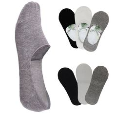 Fashion Summer Casual Cotton Men/Women Socks Low Cut Boat Nonslip Invisible Soft #Unbranded #Casual
