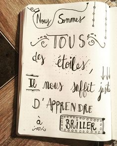 Bullet journal : Ces pages qui font du bien! Positive Attitude, Positive Quotes, Quote Citation, Bullet Journal, Daily Meditation, French Quotes, Blog, Positive Affirmations, Journal Inspiration