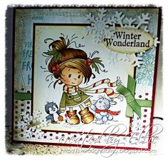 *NEW Winter Friends [SZWS158] - $8.00 : Whimsy Stamps