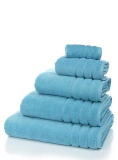 bright turquoise ultimate towel range