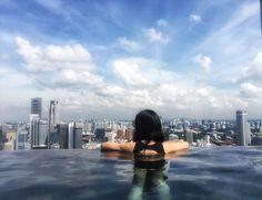 金沙 无边泳池 650英尺 Marina Bay Sands
