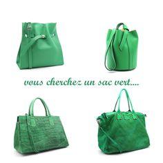 453db75b15 sac à main de coloris vert - autres couleurs - autres modèles - voir site  CpourL