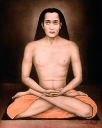 """Mahavatar Babaji """"Whenever anyone utters with reverence the name of Babaji,"""" Lahiri Mahasaya said, """"that devotee attracts an instant spiritual blessing."""" - Autobiography of a Yogi Meditation Practices, Guided Meditation, Krishna, Mahavatar Babaji, Indian Saints, Autobiography Of A Yogi, Yoga Teacher Training Course, Self Realization, Meditation Techniques"""