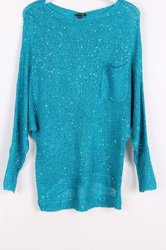 Luda Sweater in Greek Turquoise