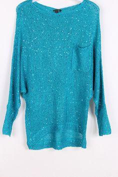 Luda Sweater in Greek Turquoise on Emma Stine Limited