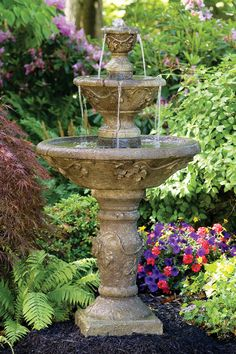 "56"" Three Tier Harvest Fountain 
