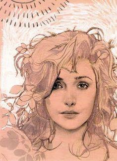 Rose Byrne by Phebe Rendulic