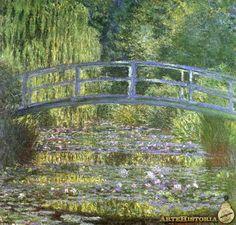 Monet. 1899. Estanque de los nenúfares, armonía en verde