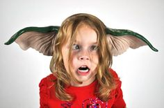 You eat after midnight… you bathe… so get the Gremlin Ears and finish the transformation.