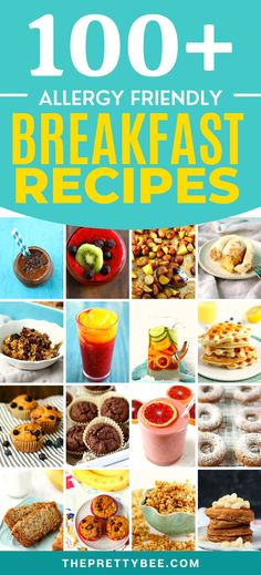 So many delicious breakfast recipes to try! These allergy friendly recipes will have you hopping out of bed in the morning! These are easy, delicious, and perfect for busy mornings. Free Breakfast, Perfect Breakfast, Delicious Breakfast Recipes, Yummy Food, Allergy Free Recipes, My Best Recipe, Gluten Free Chocolate, Egg Free, Food Allergies