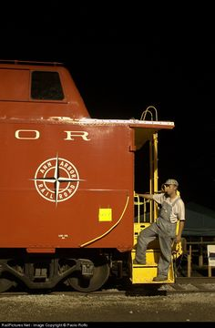 RailPictures.Net Photo: AA 2838 Ann Arbor Railroad Caboose at Owosso, Michigan by Paolo Roffo