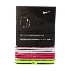 Nike Elastic 2.0 Hair Band (3996-105) 9 pieces Brand New Sport Athletic Apparel #Nike #HairBand
