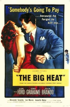 The big heat by Fritz Lang, 1953