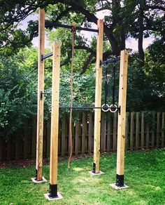 Huzodzkodo - All For Garden Backyard Jungle Gym, Backyard For Kids, Backyard Projects, Outdoor Projects, Outdoor Jungle Gym, Home Gym Garage, Diy Home Gym, Gym Room At Home, Crossfit Home Gym