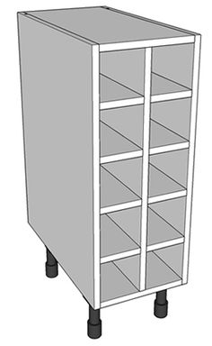 300mm WIne Rack - http://www.diy-kitchens.com/kitchen-units/base/wine-rack/