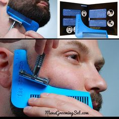 7 Tools in One- The Beard Bro Complete Beard Shaping Tool – Men's Hairstyles and Beard Models Bart Styles, Beard Shapes, Beard Game, Beard Tool, Beard Growth, Beard Grooming, Hair And Beard Styles, Facial Hair, Haircuts For Men
