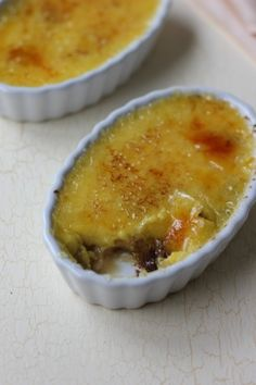 Cookie Dough Creme Brûlée! Sounds so wrong, but yet so right!   (By: Wilma.)