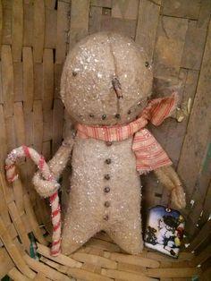 primitive snowman A simple snowman