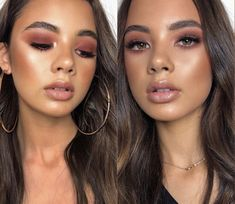 Die Art von Make-up, dasselbe Mädchen - Makeup Looks Going Out Kiss Makeup, Cute Makeup, Glam Makeup, Pretty Makeup, Bridal Makeup, Makeup Tips, Makeup Goals, Hair Makeup, Wedding Makeup