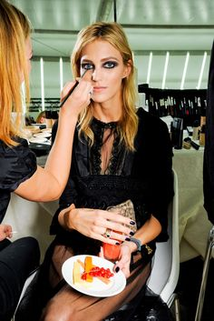 chanel couture backstage//
