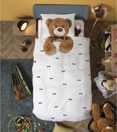 Parure de lit ours