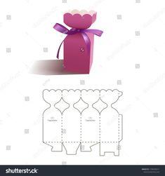High Heel Schuh Andenken gefallen Geschenkbox OOAK 3 pc Set Dress up Party Geschenke - поделки - Diy Gift Box, Paper Gift Box, Paper Gifts, Diy Paper, Paper Crafting, Diy Gifts, Box Packaging Templates, Paper Box Template, Printable Box