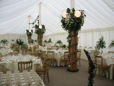Flower displays for your Norfolk Wedding Venue