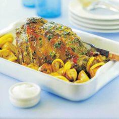 Very easy roast lamb recipe