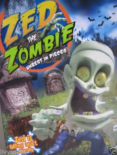 ZED-THE-ZOMBIE-UNREST-IN-PIECES-GAME-NISB-NEW-HALLOWEEN-PARTY-GAME