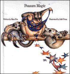 I was in primary school when this Aussie book 'Possum Magic' come out. I also won an art comp and as a result my school got a few copies for free.