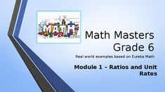 Are you looking for a real-world introduction to your Eureka Math program that energizes and entertains your students while they learn the concepts? Then this PowerPoint program is for you!Each lesson is presented with an explanatory slide, then has a slide that asks students to solve a problem.
