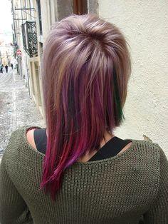 Assymetric Haircut by Silvia at Hairport Salon