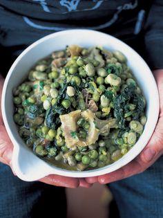 Spring vegetable stew (Vignole)