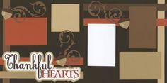 Thankful Hearts Page Kit