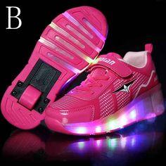 92960672c2d4e Chaussure A Roulette Rose Fille Chaussures À Roulettes