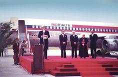 Air Malta inaugural flight.