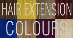 Choosing Hair Extensions Colours